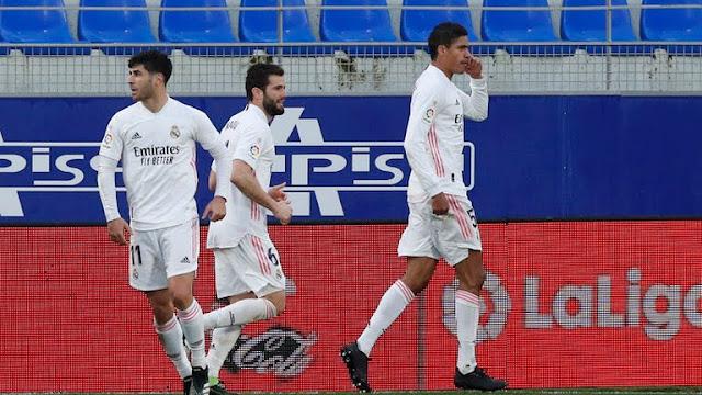 Varane doubles in Real Madrid comeback win.