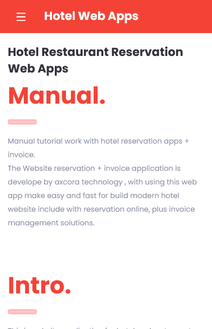 apliaksi android hotel website