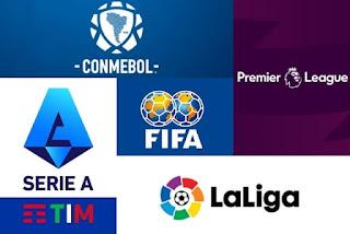 LAS LIGAS MÁS IMPORTANTES DE EUROPA CONTRA FIFA Y CONMEBOL