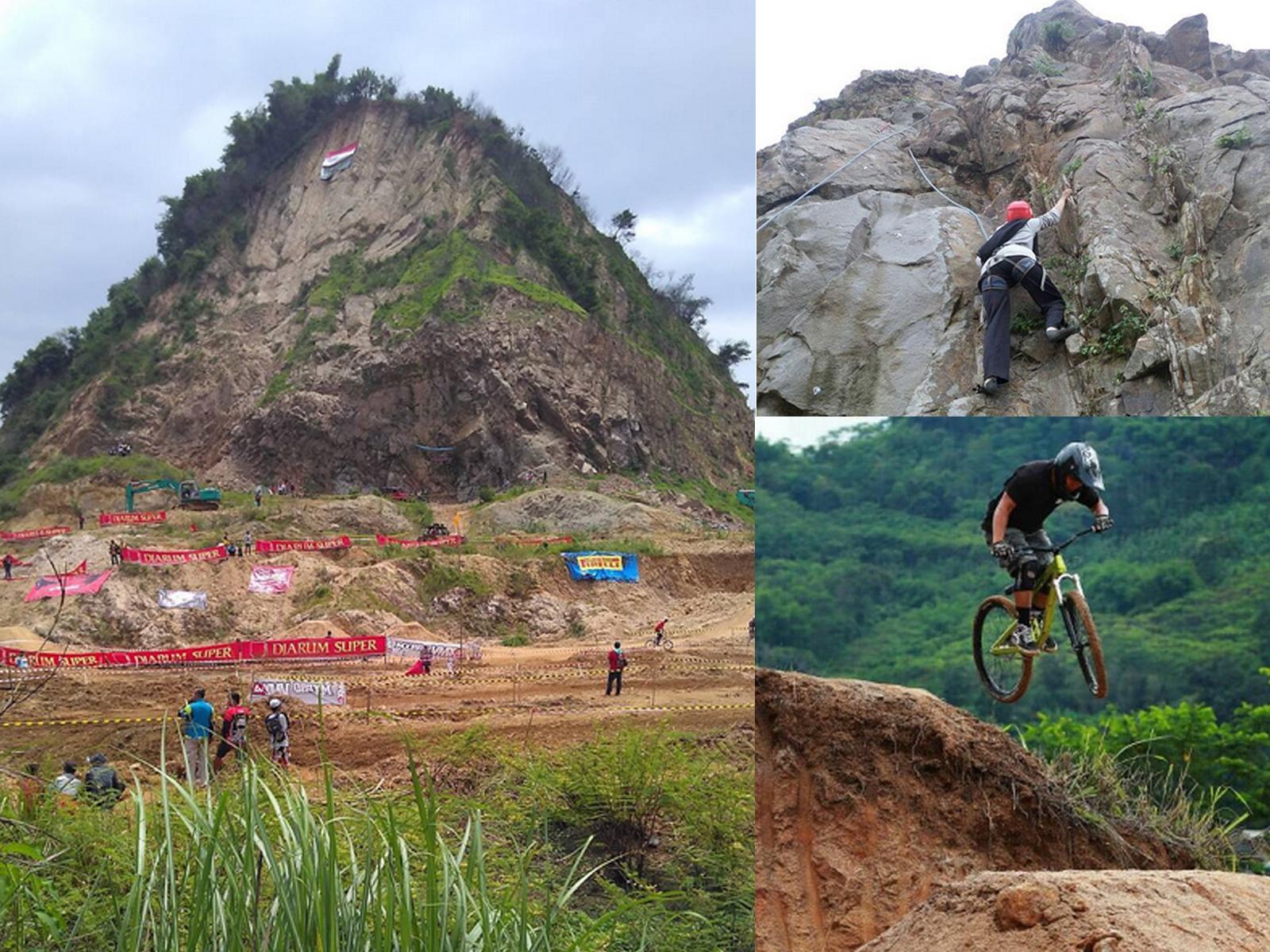 Wisata Olahraga Ekstem Gunung Pancir