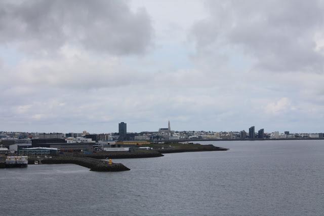 Reykjavik from Videy Island