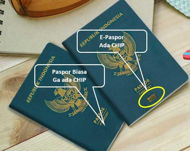 e-paspor indonesia dan paspor biasa
