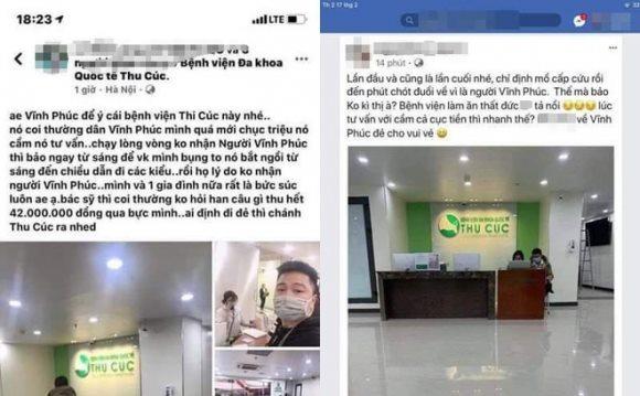 Bệnh viện lên tiếng vụ bị tố không tiếp nhận sản phụ người Vĩnh Phúc