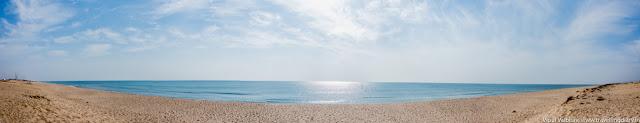 Madhavpur Beach Panorama