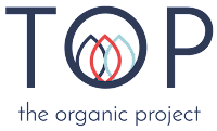 TOP the organic project logo