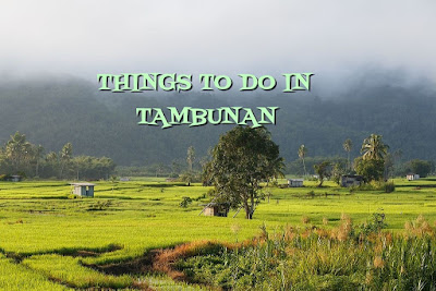 THINGS TO DO IN TAMBUNAN