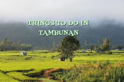 THINGS TO DO IN TAMBUNAN
