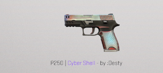 P250 | Cyber Shell Restricted Skin