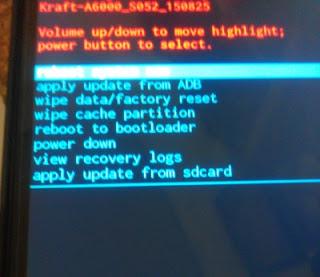 Cara Mudah Downgrade Lenovo A6000 ke Kitkat