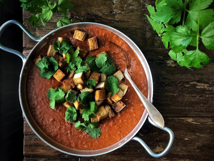 vegaaninen tofucurry