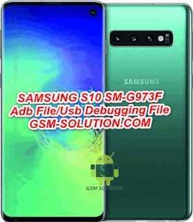 Samsung S10 SM-G973F Adb File/Usb Debugging Enable File Download To Remove FRP