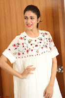Lavanya Tripathi in Summer Style Spicy Short White Dress at her Interview  Exclusive 192.JPG