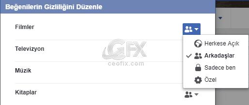 Facebook'da beğeniler nasıl gizlenir?