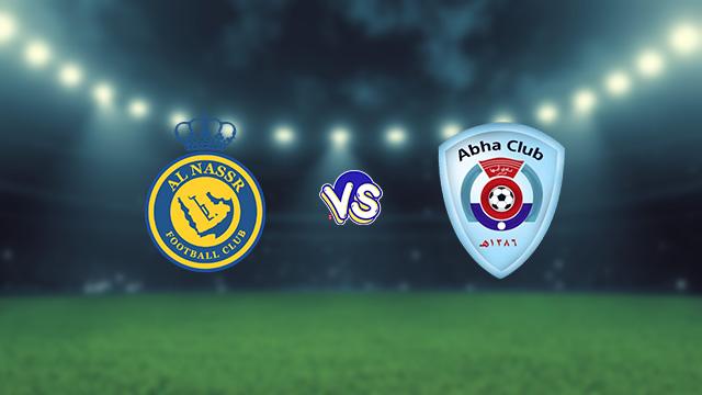 نتيجة مباراة النصر وأبها اليوم 30-09-2021 في الدوري السعودي