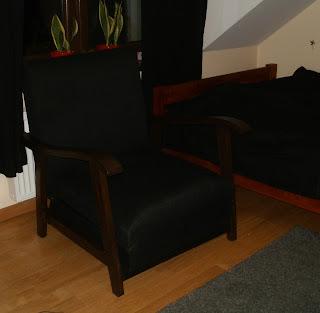 jak odnowić rozkładany fotel PRL