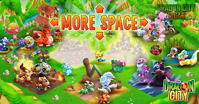 Atualização no Jogo - Mais Espaço para os Dragões!
