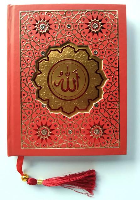 Tampak Depan Yasin Hardcover Warna Merah
