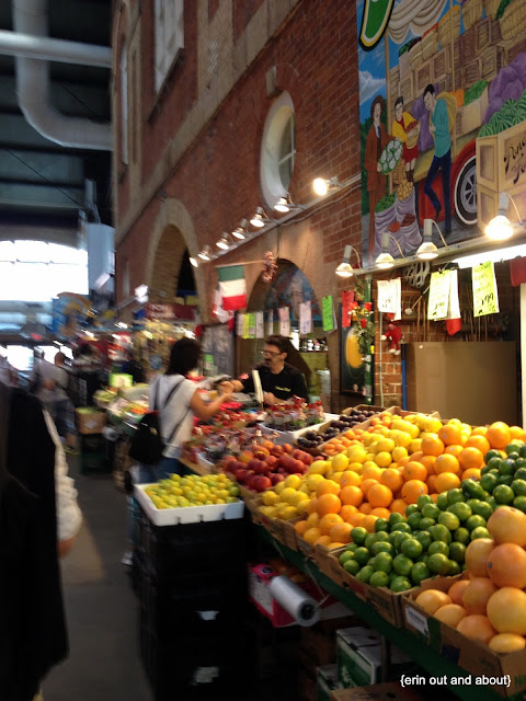 St. Lawrence Market produce