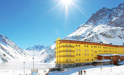 Portillo Ski Center, Chile.