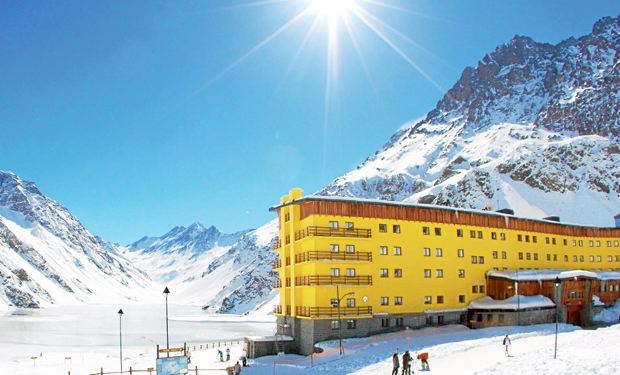 Portillo Ski Center, Chile.