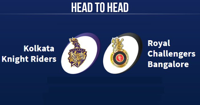 RCB vs KKR Head to Head: KKR vs RCB Head to Head IPL Records: IPL 2018
