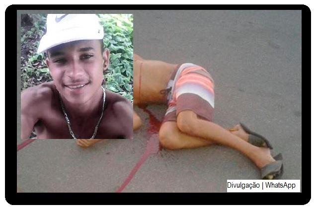 Na noite deste domingo, um jovem de 17 anos foi executado com quatro tiros em Travessão