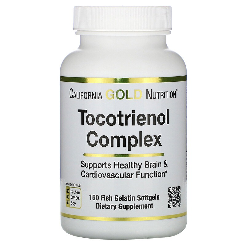 California Gold Nutrition, Tocotrienol Complex, 150 Fish Gelatin Softgels