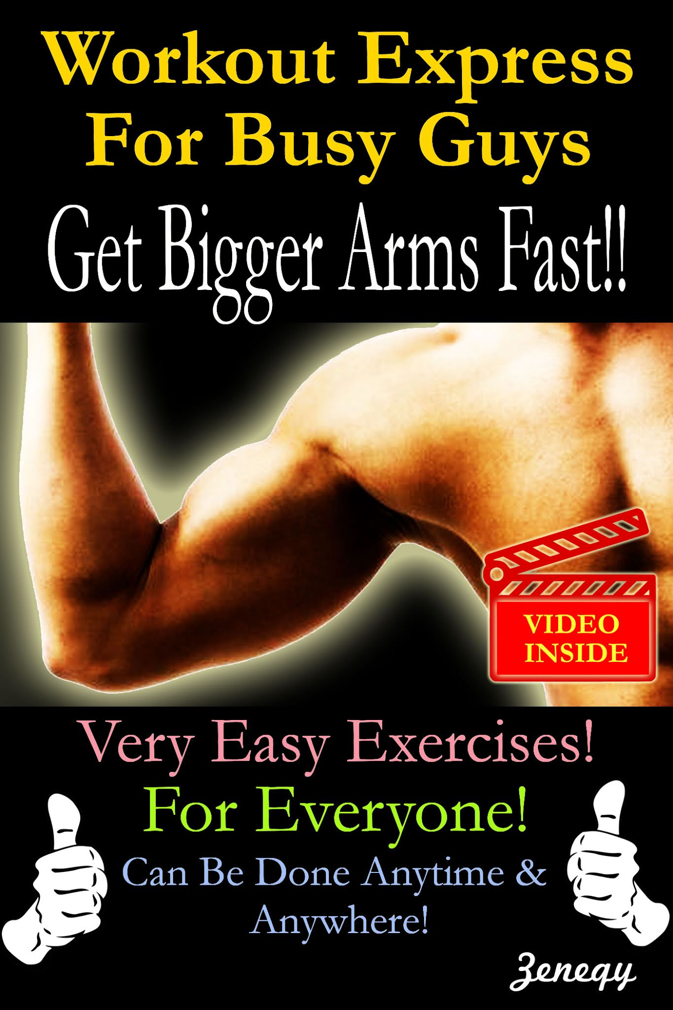 Workout Express For Busy Guys: Get Bigger Arms Fast!!