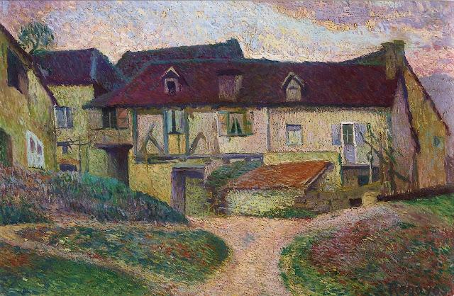Dario de Regoyos - Farmhouse, Namur