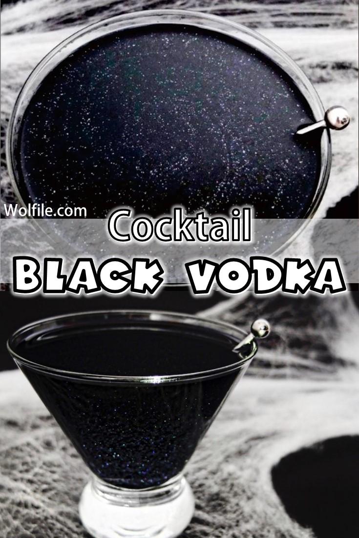 Cocktail Black Vodka Recipe