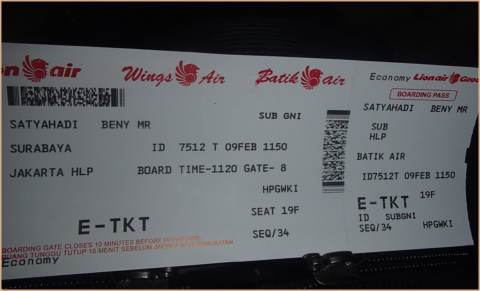 the satyahadi s journal terbang dengan batik air di airport halim rh benysatyahadi blogspot com tiket pesawat jakarta jogja dari halim Harga Tiket Pesawat