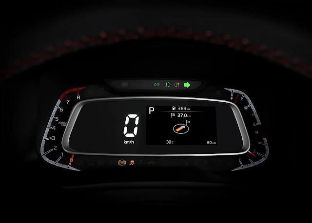 kia-sonet-speedometer