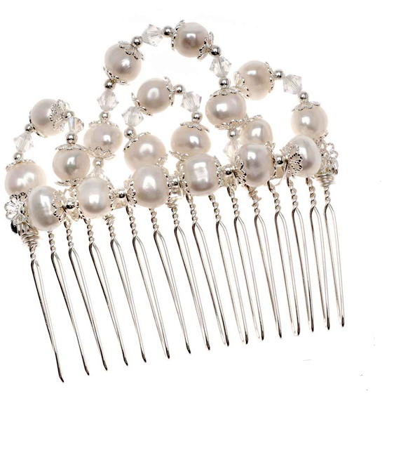 How To Make Wire Wrapped Hair Comb Jewelry Tutorials The