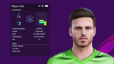 PES 2020 Faces Marin Pongračić by Raden