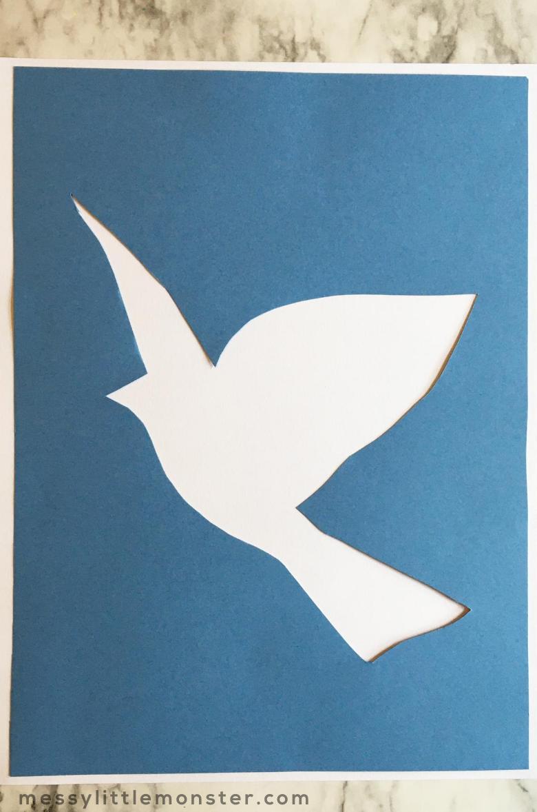 bird outline template