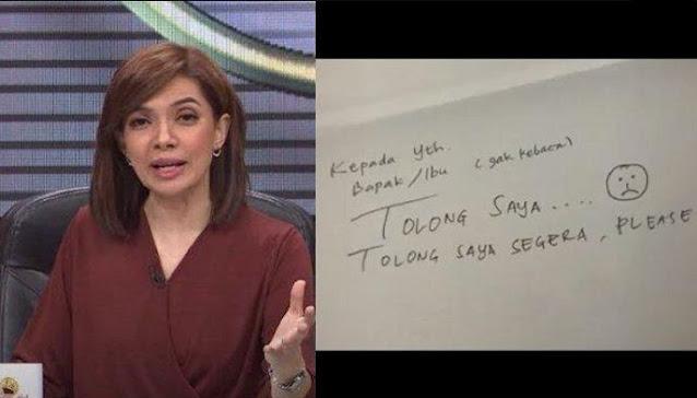Gempar! Tulisan Minta Tolong, Najwa Shihab Ungkap Kondisinya