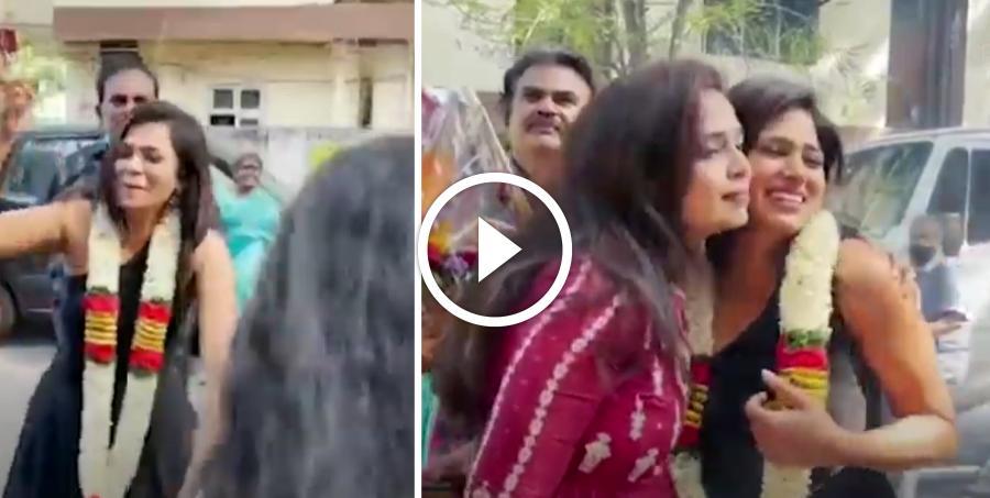செண்டை மேளத்துடன் Ramya Pandiyan-க்கு குடும்பத்தார் உற்சாக வரவேற்பு !! வைரலாகும் வீடியோ !