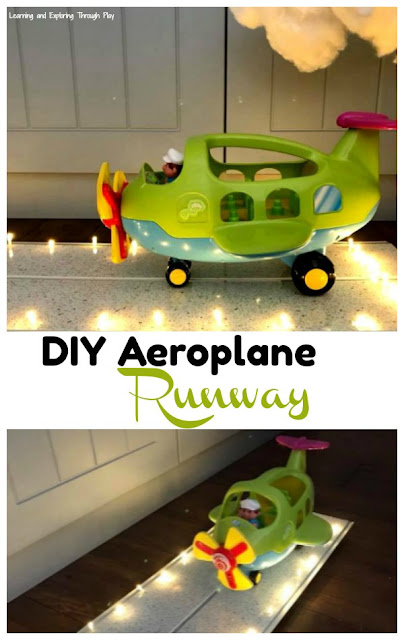 Aeroplane Runway DIY - Vehicle Activities for Kids