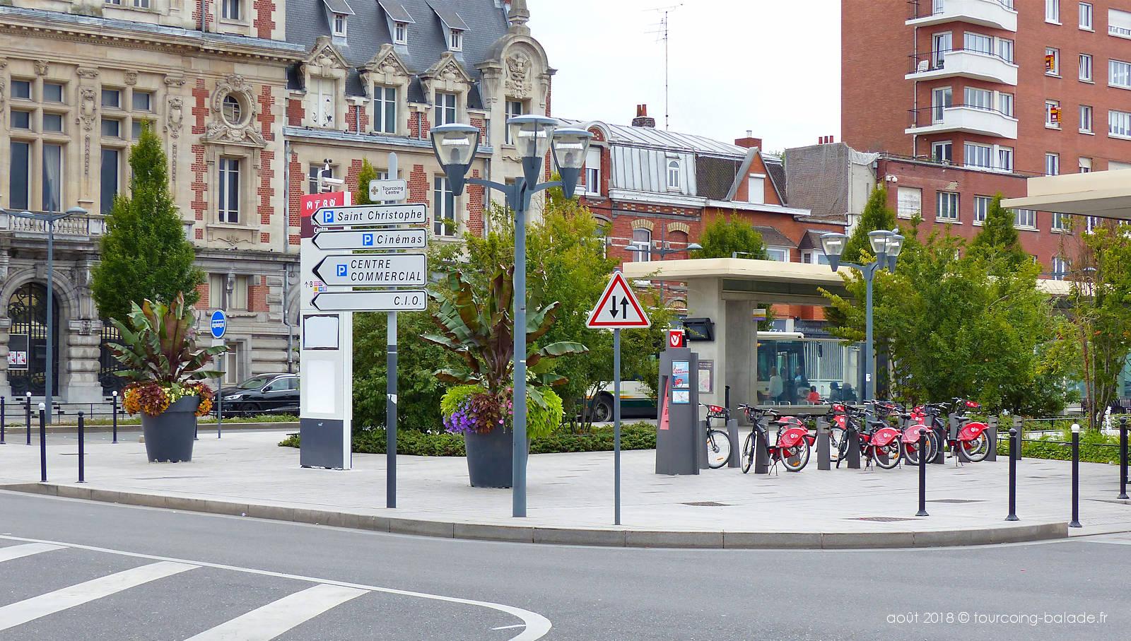 Station V'Lille Roussel, Tourcoing centre