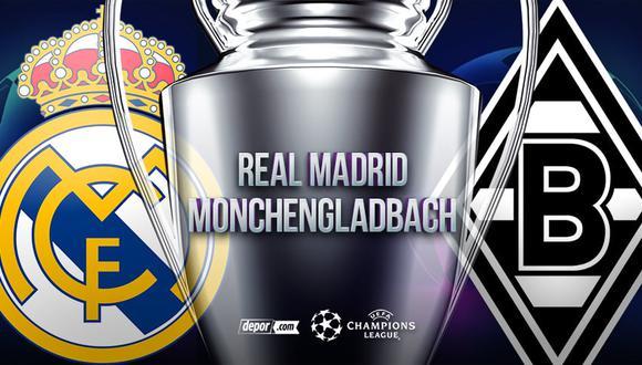 Real Madrid vs. Mönchengladbach EN VIVO a través de ESPN 2: canales y transmisión por la Champions