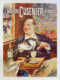 "Advertising poster for Cusenier's ""Oxygénée"" absinth, 1896"