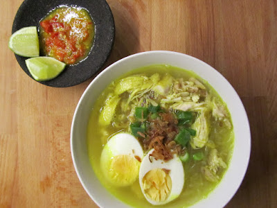 Soto Ayam : An Easy To Make Indonesian Menu