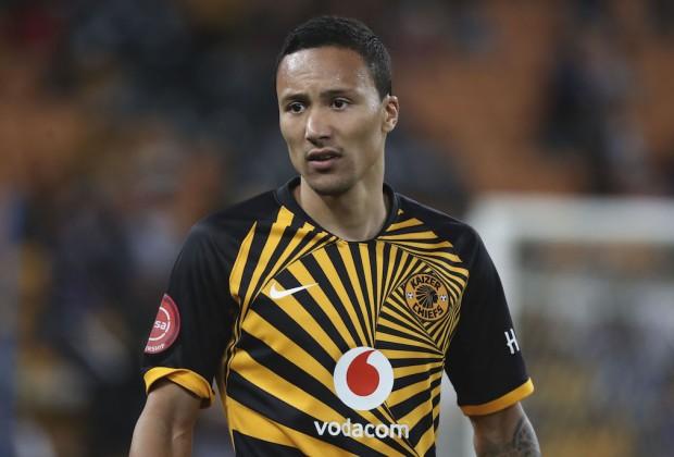 Kaizer Chiefs midfielder Kearyn Baccus