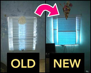Artistic Way to Decorate a Dirty, Old and Rented 1bhk