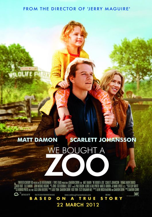 We Bought a Zoo (2011) สวนสัตว์อัศจรรย์ ของขวัญให้ลูก