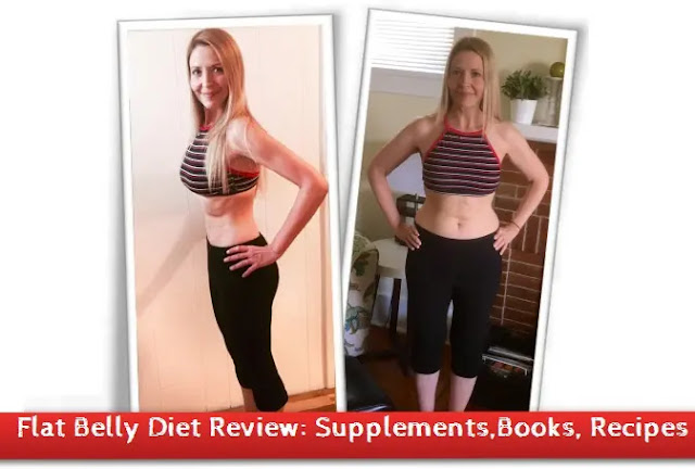 Flat Belly Diet Review: Supplements,Books, Recipes