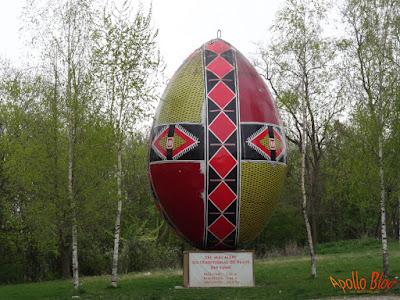 Cel mai mare ou de Pasti din lume