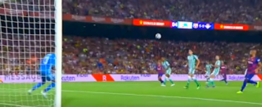 برشلونة يفوز على ريال بيتيس 5-2..جريزمان يسجل هدفين