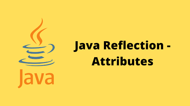 HackerRank Java Reflection - Attributes problem solution