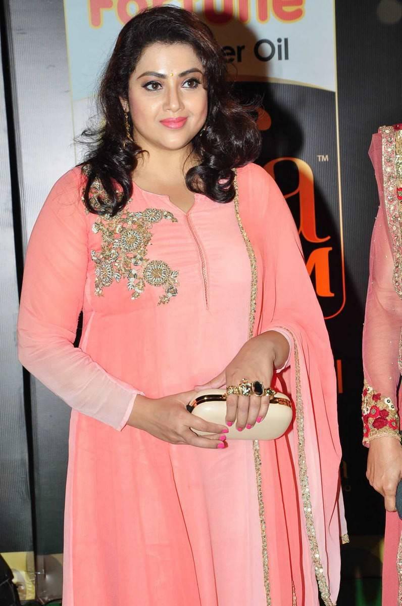 Meena Hot Photos At IIFA Utsavam Awards